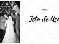 Teto de Aço em Casamento Militar - Li Mendi