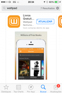 Tutorial como usar Wattpad para ler Romances Grátis - Li Mendi