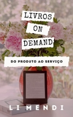 MINIATURA LIVROS ON DEMAND AMAZON KINDLE LI MENDI