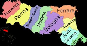 Ferrara Itália origem migração Italiana Família Boquimpani