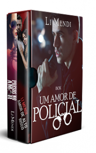 Box Um amor de Policial - Romance Kindle Ilimitado Amazon - Li Mendi