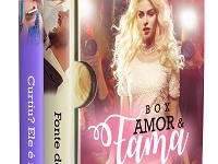 Capa de Romance Amazon Box Amor e Fama kindle ilimitado