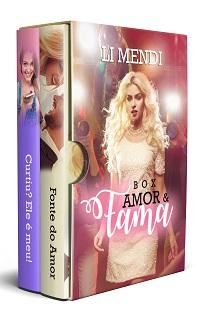 Capa de Romance Amazon Box Amor e Fama kindle ilimitado
