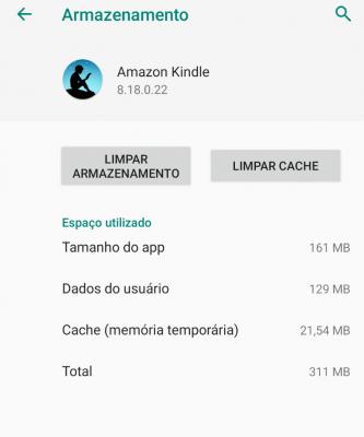Erro de Atualização de Livro no aplicativo Kindle da Amazon - Como resolver