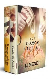 Box Amor está ao lado Amazon