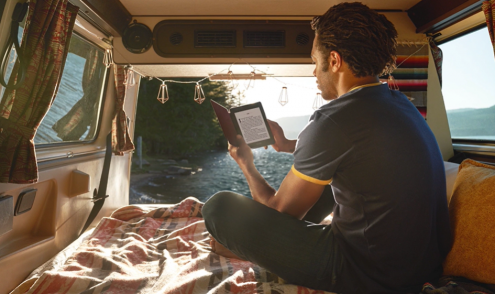 Kindle oasis a prova dagua leitor digital para livros e-book