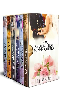 Box Romance Amazon Amor Militar Minha guerra Li Mendi